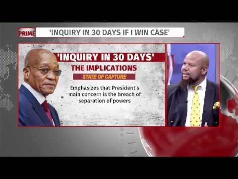 Pres Zuma promises state capture inquiry