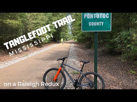 Tanglefoot Trail + Raleigh Redux + Hat Giveaway