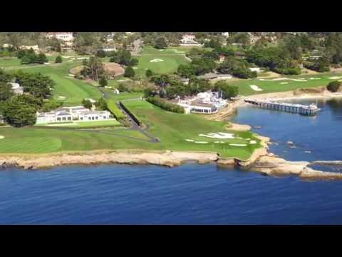 Monterey Coast Aerial - Featuring The Lone Cypress, Pebble Beach & Pacific Grove