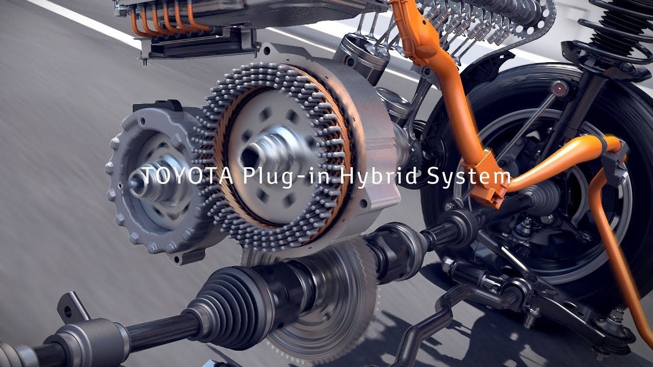 TOYOTA Plug In Hybrid System | Energy Management
