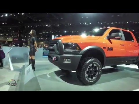 FIAT- Chrysler Group (FCA) at the 2016 Chicago Auto Show #cas16video