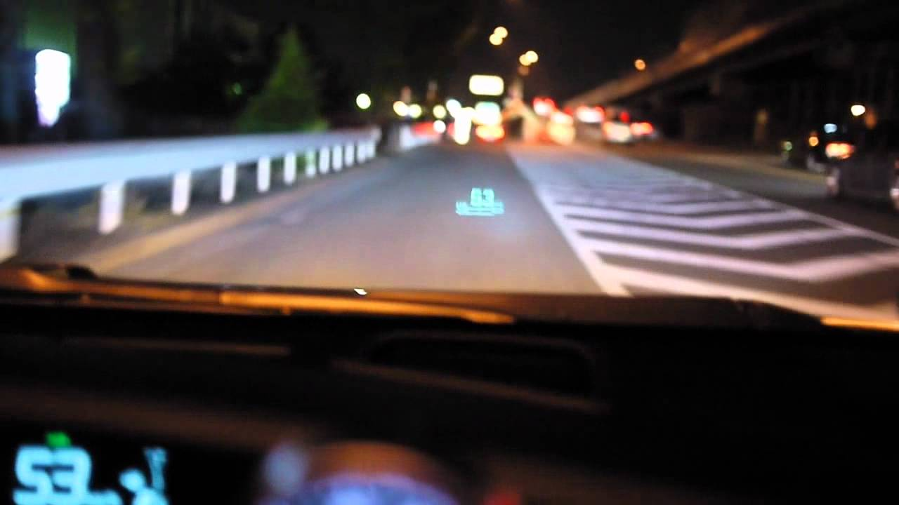 hud prius head up display youtube. Black Bedroom Furniture Sets. Home Design Ideas