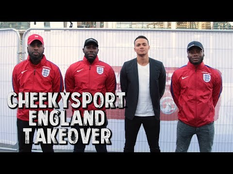 CheekySport England and Boohoo Man Takeover! Featuring Jermaine Jenas