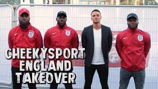 Cheekysport england and boohoo man takeover! featuring jermaine jenas