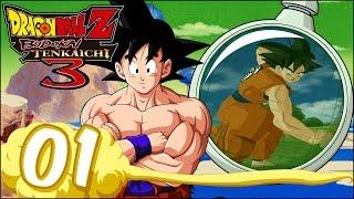 Dragon Ball Z Budokai Tenkaichi 3 | Capítulo 1 | LA GUERRA SAIYAN !!!