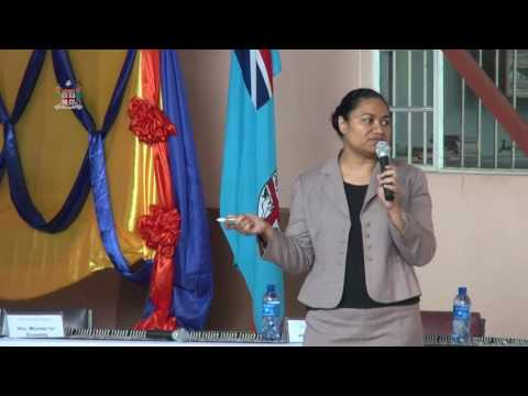 Fijian Attorney-General holds Budget Consultations for High Schools in Ra