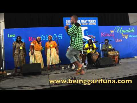 (Part 3) Garifuna Music and Dance at The 2013 Smithsonian FolkLife Festival