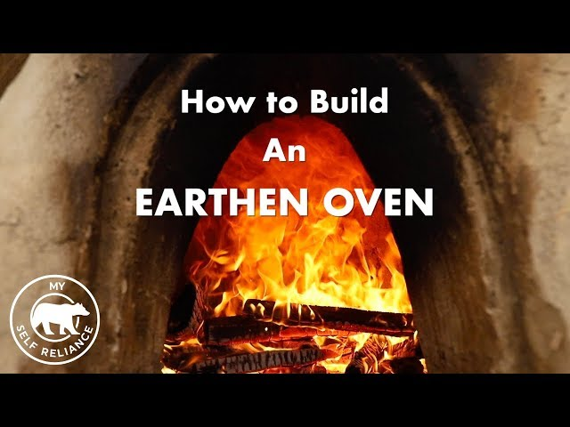 How to Build an Earthen Oven with Clay Cob