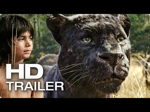 DAS DSCHUNGELBUCH Trailer (2016) The Jungle Book