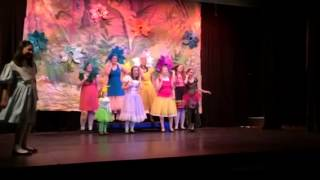 Lily in Alice in Wonderland Jr (8/21/15) Golden Afternoon r