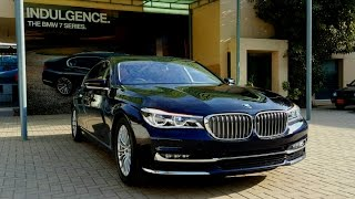 2017 BMW 7 series 740Li: Startup/ Exhaust/ Interior/ Exterior/ In-depth Review