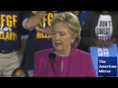 Hillary Clinton forgets election date
