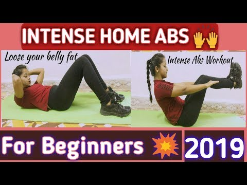 Intense Home Six Pack Abs Workout | For Beginners | 2019