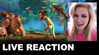 The Croods 2 Trailer REACTION