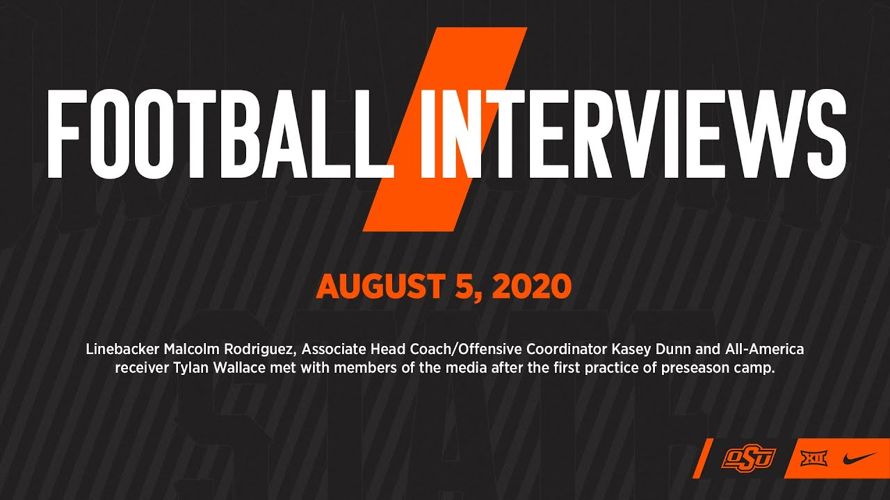 Oklahoma State Football Availability - August 5