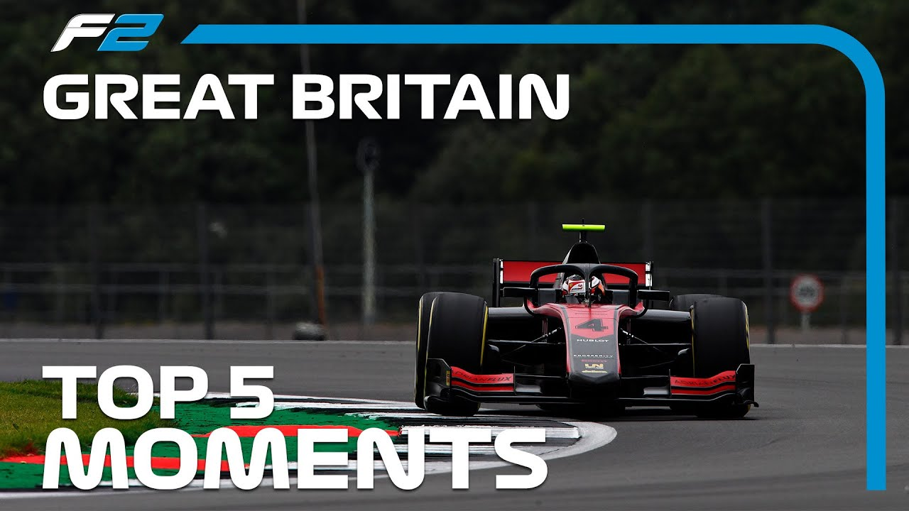 Top 5 Formula 2 Moments | 2020 British Grand Prix