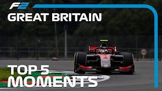 Top 5 Formula 2 Moments   2020 British Grand Prix