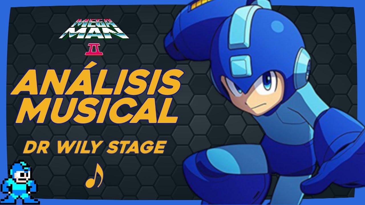 Doctor Willy Stage 🔵🤘🏻 Es Heavy METAL ?   Megaman 2   Análisis Musical de Videojuegos