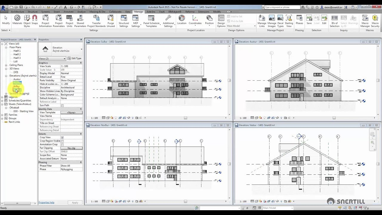 Revit architecture template download