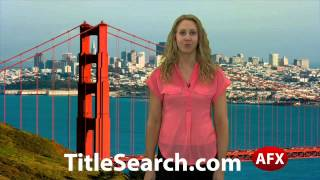 Property title records in San Mateo County California | AFX