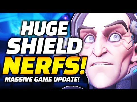 ALL BARRIERS NERFED! Huge Overwatch Game Update! - Moira NERFED! Genji BUFFED!