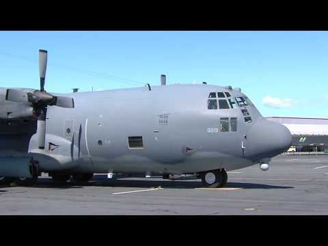 MC-130P Going to the Hayward Airport Open House on Sept.24