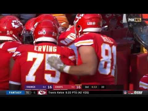 Damian Williams 91 Yard Touchdown Run | Vikings vs. Chiefs | NFL