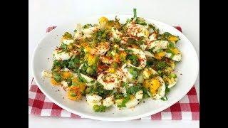3 Dakİkada Kahvaltilik Yumurta Salatasi -  Nefİs Bİr Kahvaltilik