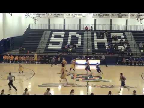 San Dimas Basketball v. Baldwin Park 1-20-17