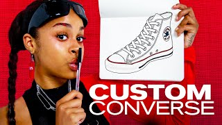 We Designed Our Own Converse! ~ NAYVA Ep #43 ~ FASHION & BEAUTY