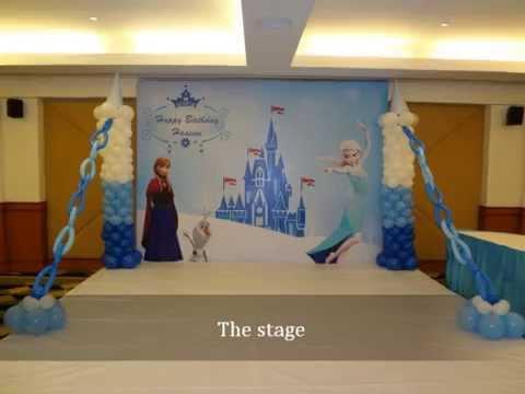 Untumble Frozen Theme Birthday Party Supplies Youtube