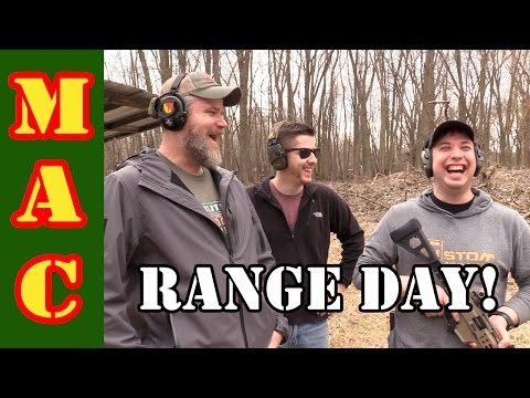 RANGE DAY! We take the crew out for some fun!