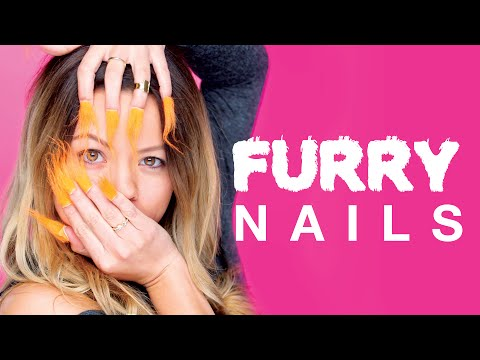 We Tested the Furry Nails Trend in Real Life