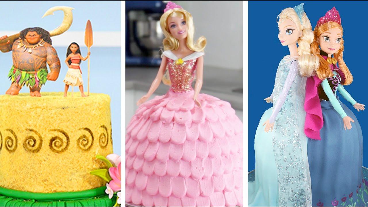 Amazing Princess Cakes Compilation Moana Tinkerbell