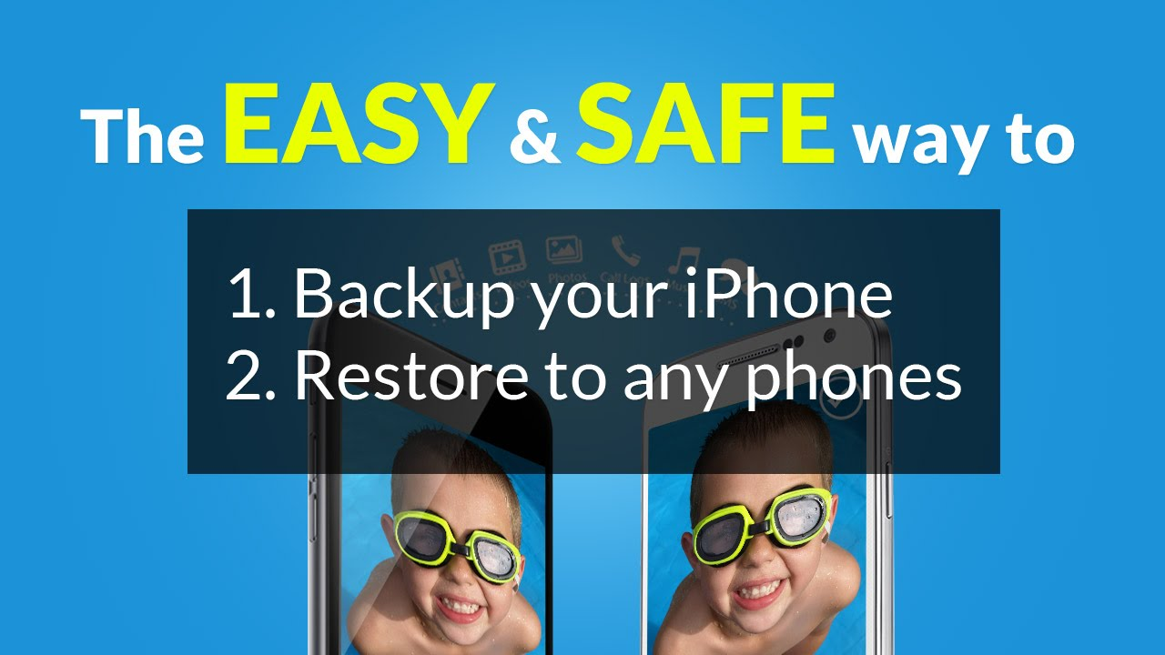 How to Backup your iPhone & Restore to Any iOS Device or Android Phones
