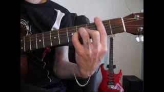 Пишу тебе опять - Красивая песня про любовь - Уроки игры на гитаре