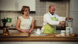 """Рецепт протеинового коктейля Формула 1 """"Изысканное трио ванили, сельдерея и груши"""""""