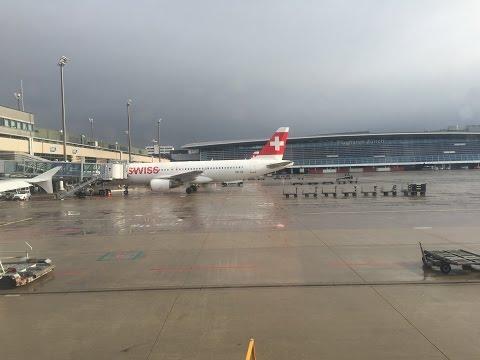 Swiss Flug LX 1056 von Zürich nach Hamburg (28.11.2015 - 12:35)
