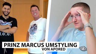 Justin reagiert auf ApoRed's Umstyling für Prinz Marcus.. | Reaktion