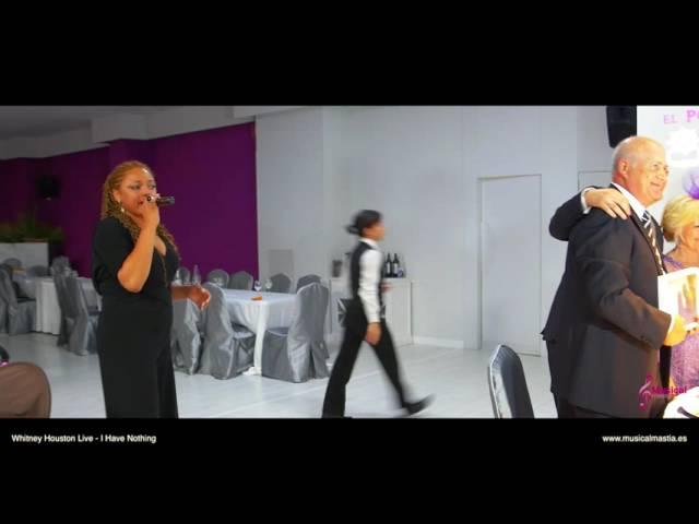 Boda Lorena & Manolo Whitney Houston I Have Nothing Porton de la condesa