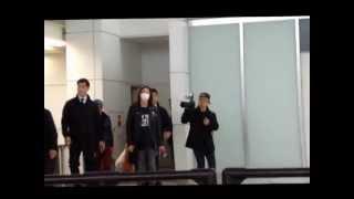 2013.10 新千歳空港 二日間のzepp sapporoを終え、帰国のグ...