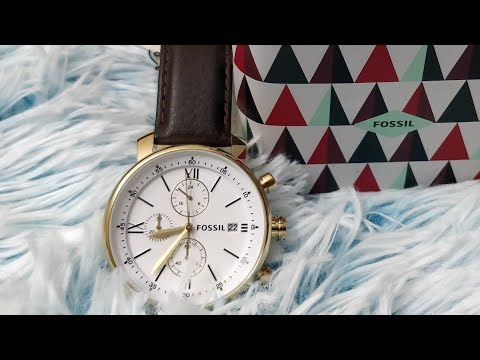 Fossil Watch Bq1009 Chronograph Dial White Review xdoCeB