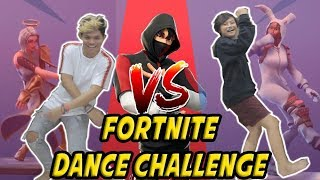 Gambar cover DANCE BATTLE LAWAN MADEKES - FORTNITE DANCE CHALLENGE