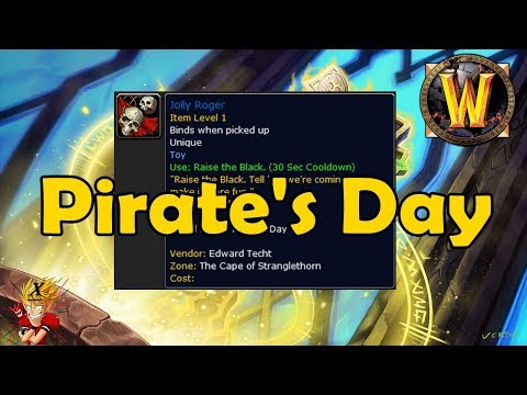 Bite Sized WoW News - Pirate Day, also some other stuff I guess