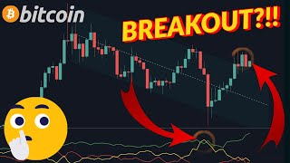 BITCOIN BREAKING OUT NOW?!!! AVOID THE HERD MENTALITY!!! MUST HOLD  KEY LEVEL!!!