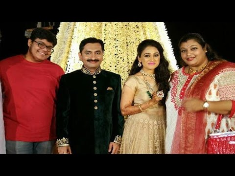 Wedding Reception Party of Disha Vakani aka Dayaben of Taara