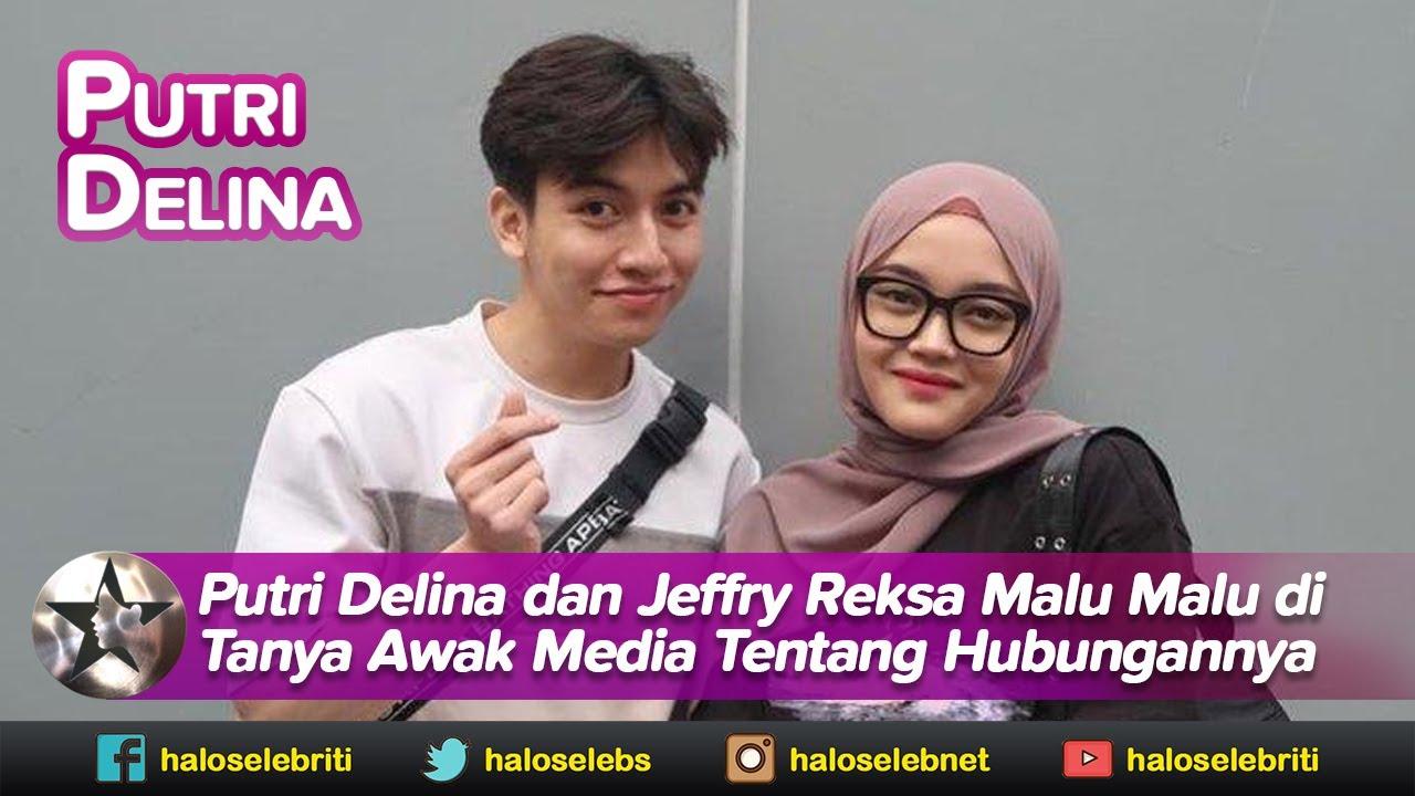 Malu Malu, Begini Reaksi Putri Delina dan Jeffry Ketika Ditanya Soal Hubungannya | Halo Selebriti