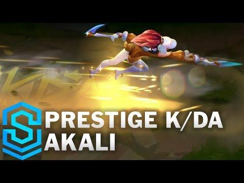 Prestige K/DA Akali Skin Spotlight - Pre-Release - League of Legends