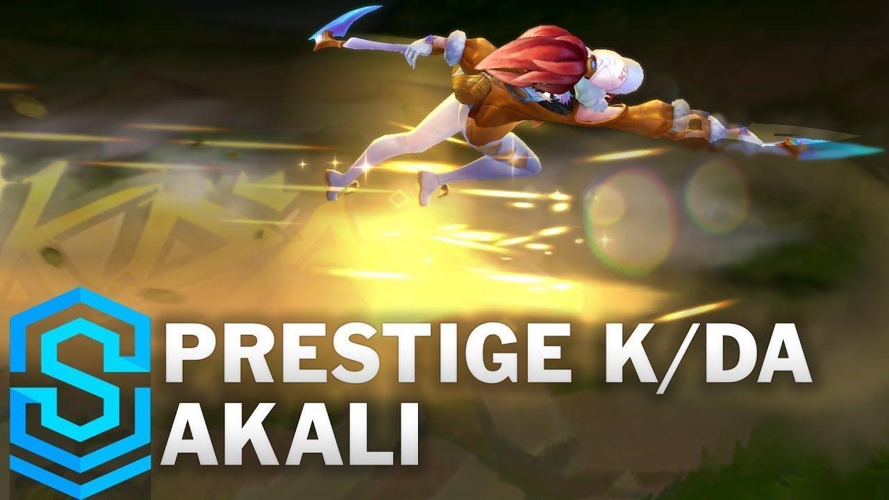 Prestige K Da Akali Skin Spotlight Pre Release League Of