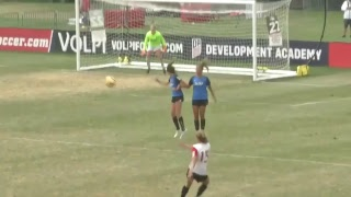 Development Academy U-15 Girls Quarterfinal - San Jose Earthquakes vs. San Diego Surf